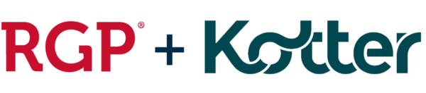 RGP and Kotter logos